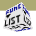 HTML editor / rdFunctionList
